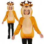 REINDEER TUNIC COSTUME WITH HOOD